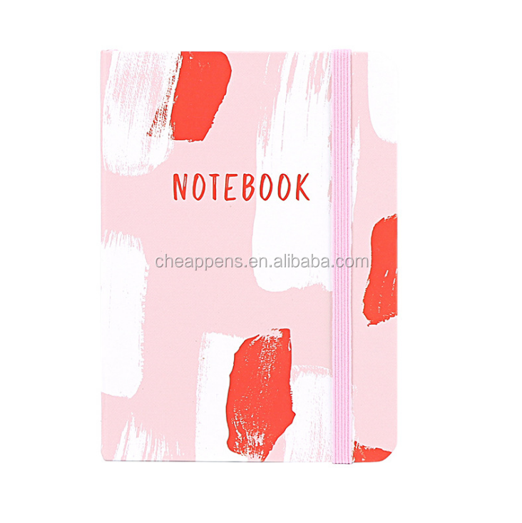 Wholesale School Custom A5 paper made hardcover notebook