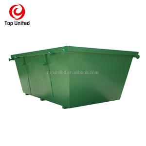 outdoor scrap metal skip bins with A door