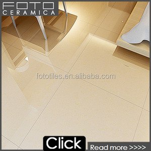 Crystal double loading polished yellow porcelain tile