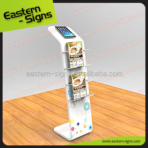 Custom Printing Fabric IPAD & Literature Display Stands