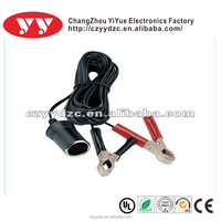 Battery Clips YY-W00197 stainless steel adapter usb with alligator clips