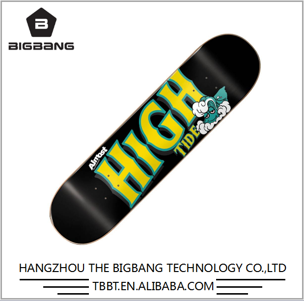 BIGBANG Safe material popular design top quality tech deck skateboard , finger deck skateboard , skateboard decks flip