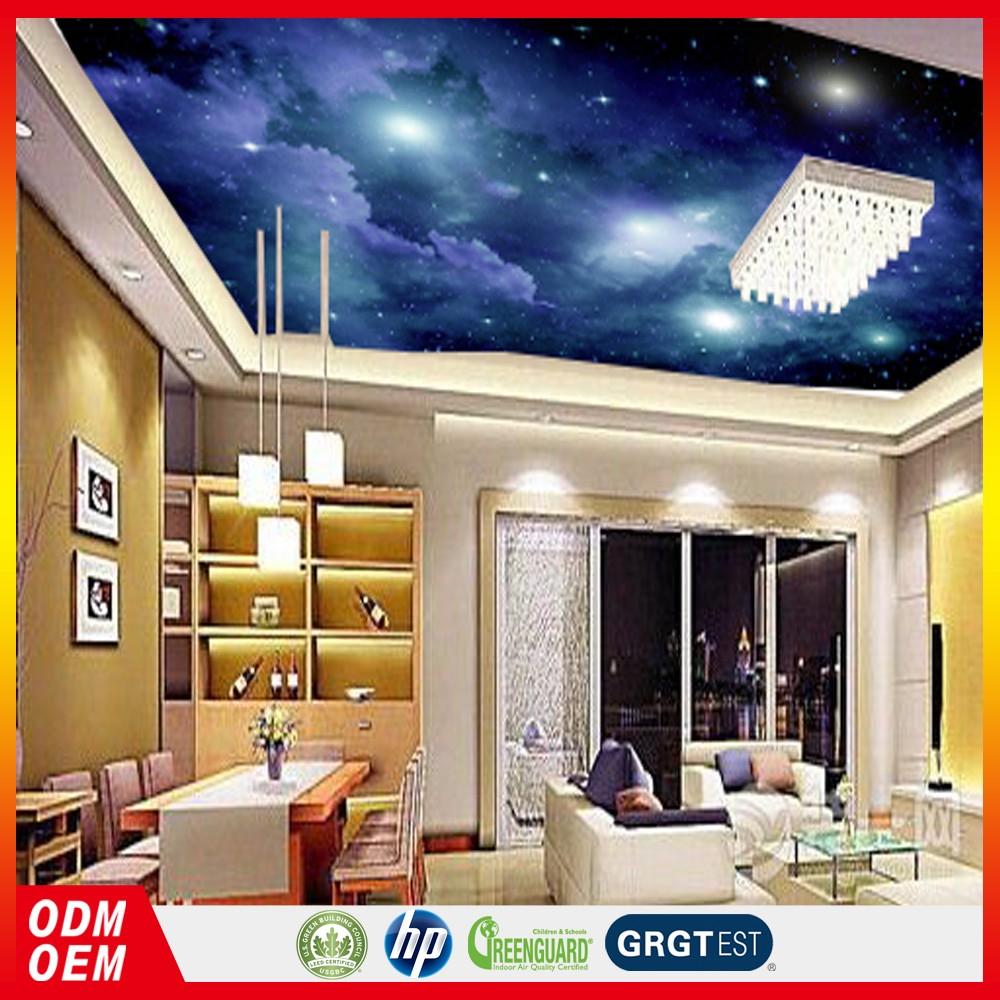レストラン天井装飾設計壁紙夜空壁紙天井装飾用寝室壁紙 Buy 夜空