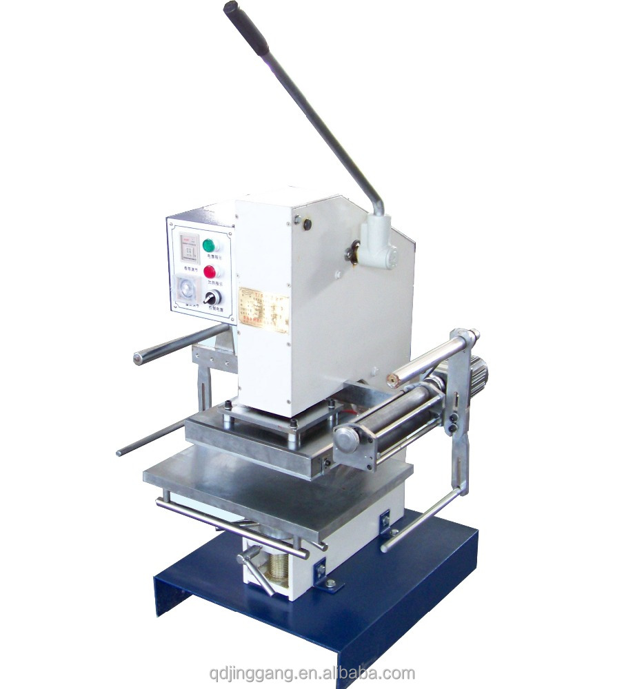 Jinggang hot sales TJ-30 Manual Hot Foil Stamper/ gold Stamping Printing Machine