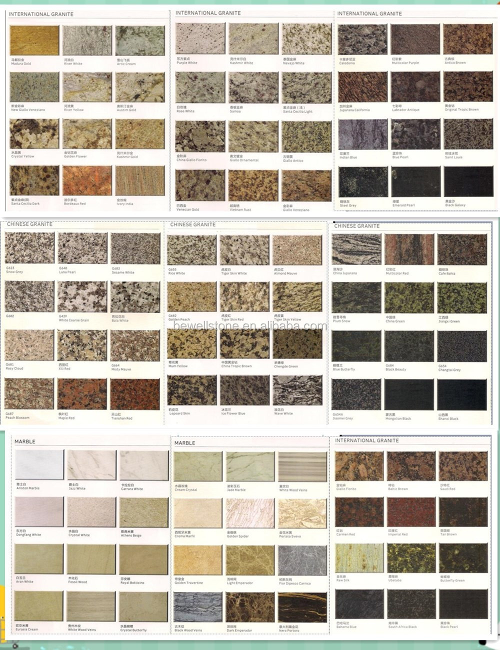 Bewell Stone Wholesale Prefab Lowes Price Granite Countertop For ...