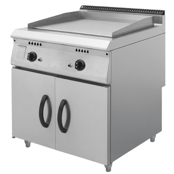 professional fast food restaurant commercial kitchen equipment gas griddle with cabinet - Commercial Kitchen Equipment