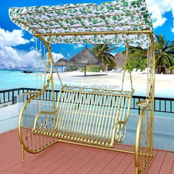 hotsale outdoor metal garden rocking chair swing buy garden swing
