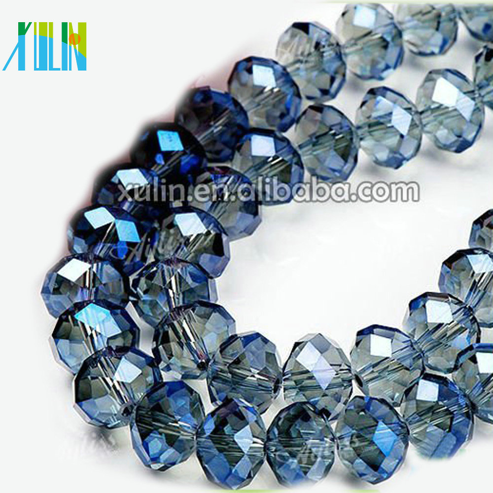 5040 Crystal Czech Loose Glass Beads 10mm Rondelle Faceted Jewelry
