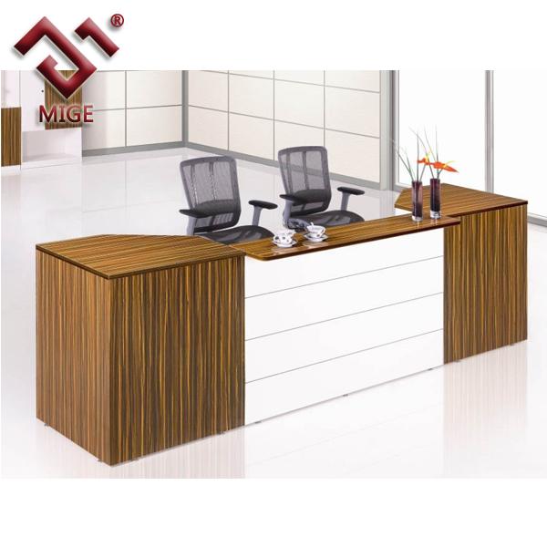 Melamine Front Desk ,simple Design