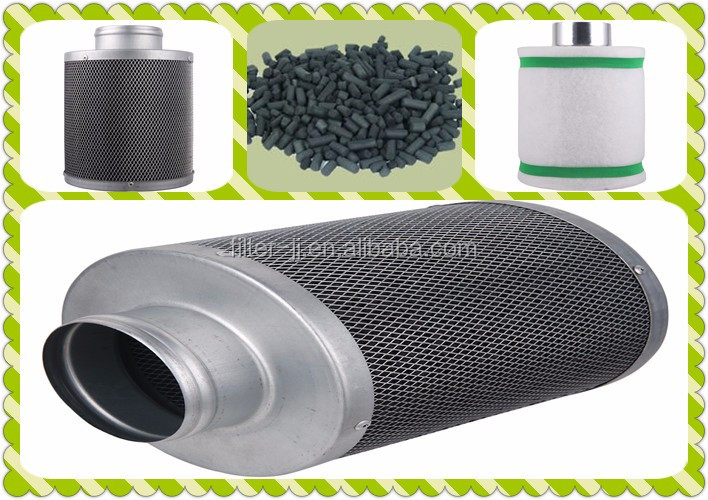 Manufacturer Hydroponics Air Activated Carbon Filter For Growing Plant