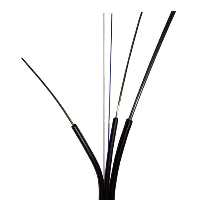 GJXH GJXCH 1,2,4,6,8,12 Cores FTTH flat indoor/outdoor fiber optic cable Drop Cable