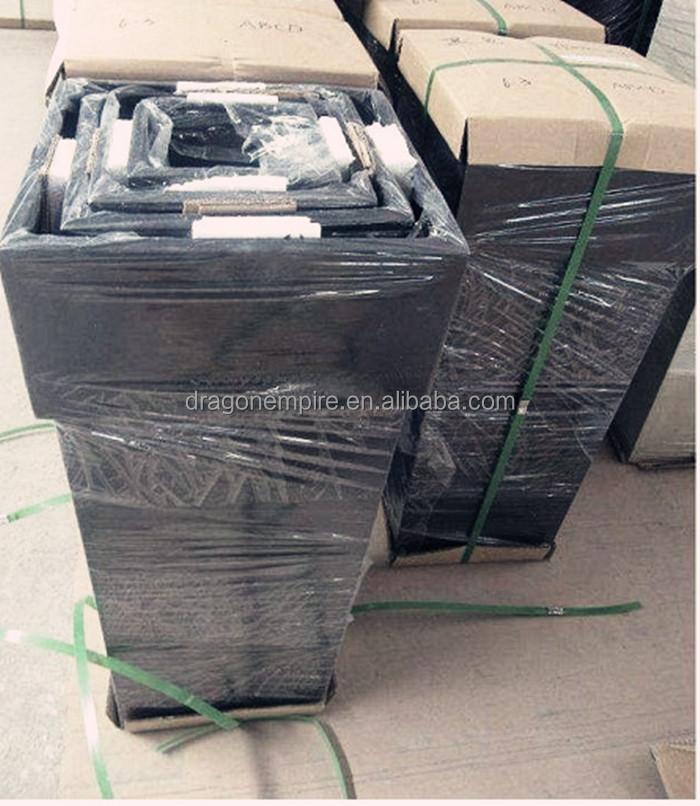 outdoor large rectangular fiberglass cement planter box fiberglass cement garden flower pots