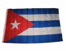 Voorraad Cuba nationale vlag/Cuba land vlag <span class=keywords><strong>banner</strong></span>