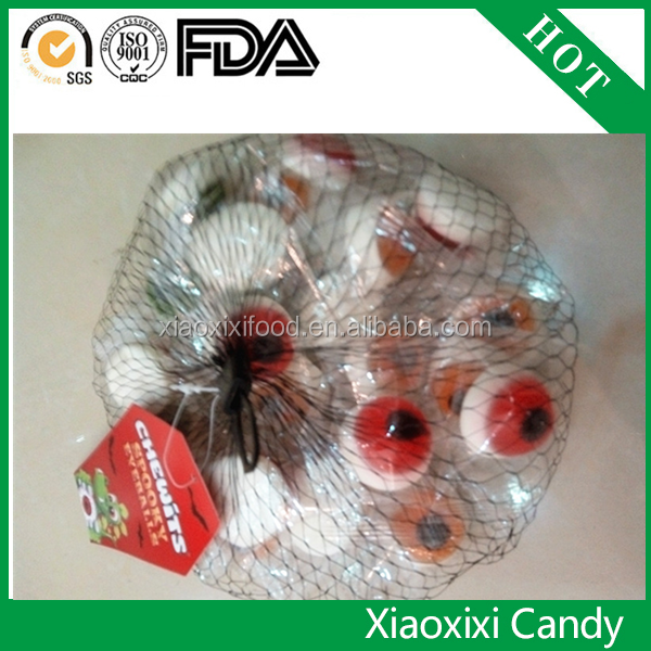 new body part candy of eye gummy with healthy food