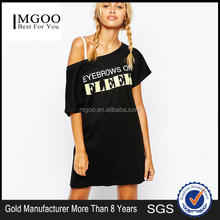 MGOO 2016 Gold Supplier Factory Clothes China Sublimation Print Custom T-shirt Dress OEM Services 15151C407