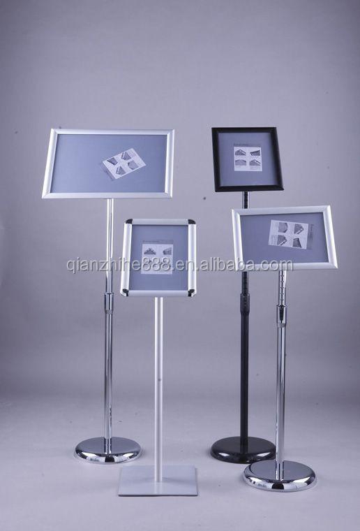 11x17 floor pedestal poster display sign stand holder