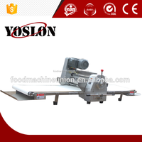 Commercial Type Dough Sheeter 380mm Bakery Equipment Table