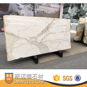 Calcutta Gold marble slabs for bathroom Big slabs in stock