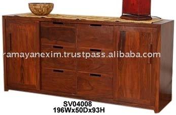 Buffet,Muebles De Comedor,Muebles Para El Hogar - Buy Placa Lateral ...