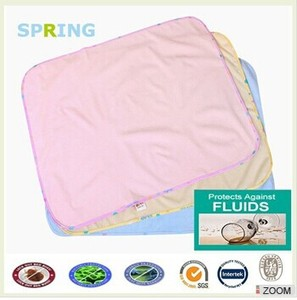 Waterproof baby care underpads kids urine pad bed bug mattress protector