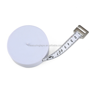 Wholesale portable bmi calculator machine round height weight tape measure