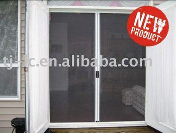 Roller Mosquito Net Insect Screen Door -- Yml-1/2 - Buy Insect Door on garage door bug net, windows mosquito net, screen door mosquito net,