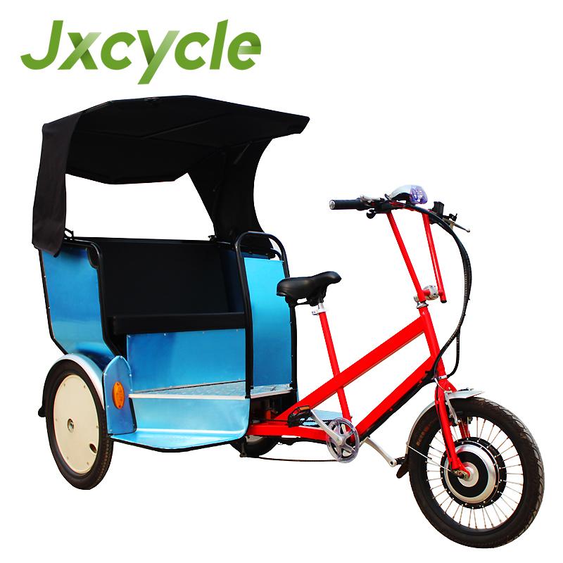 three wheel electric Bike Taxi/ Bicycle Rickshaw
