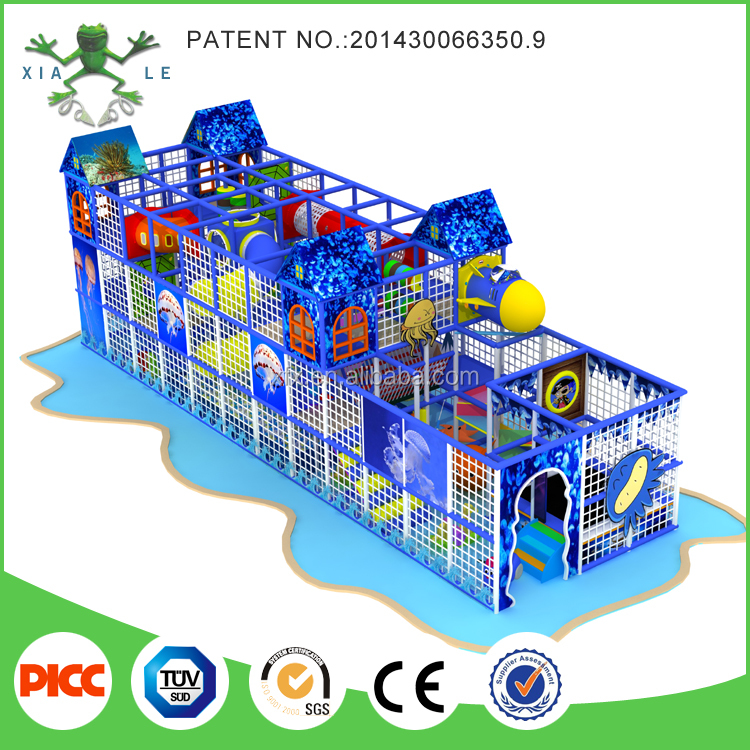 Children Attractions Indoor Play Centers Commercial Ball Pits Kids Playground