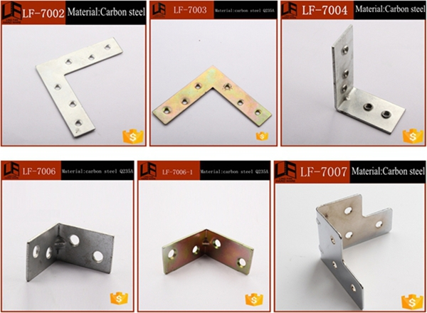 Wooden Furniture Metal Products Manufacture Decorative L Corner Brackets
