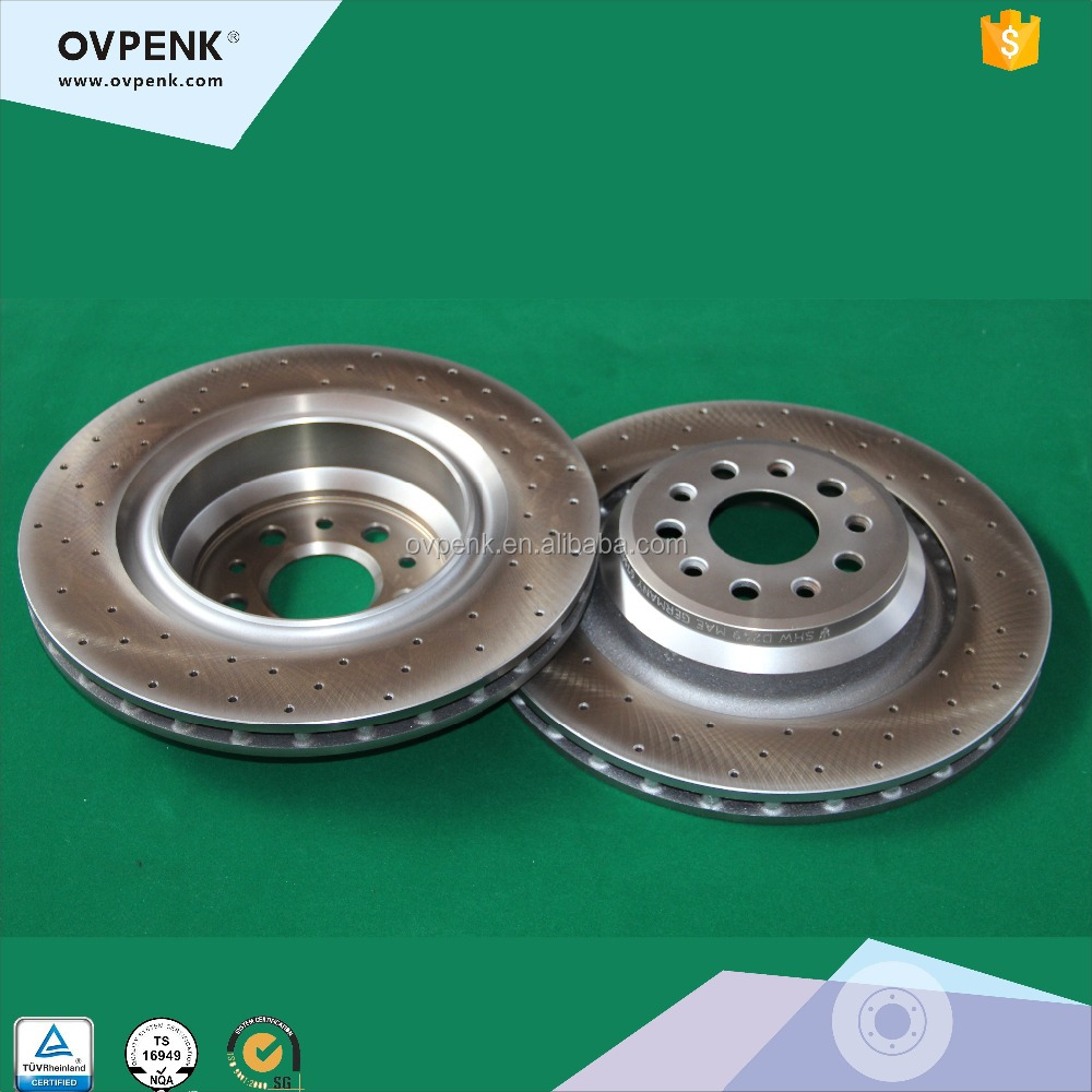 Rear Brake Disc For Maserati Quattroporte 3.0T V6/Ghibli 670031597/67004008 Sports Car Parts