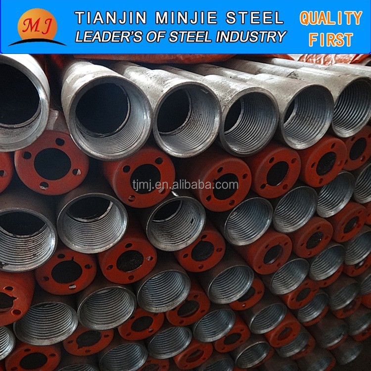 m10 thread pipe steel pipe and connecter