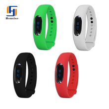 Bluetooth Wristband Beautiful Fitness Band 2016 Pedometer Watch Activity Tracker For Tracking Daily Activities