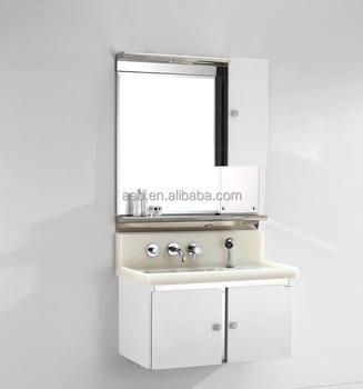 Malaysia Stainless Steel Illuminated Allen Roth Bathroom Storage Cabinets