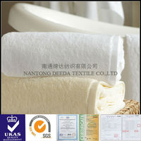 100% cotton luxury white and solid color yoga towel