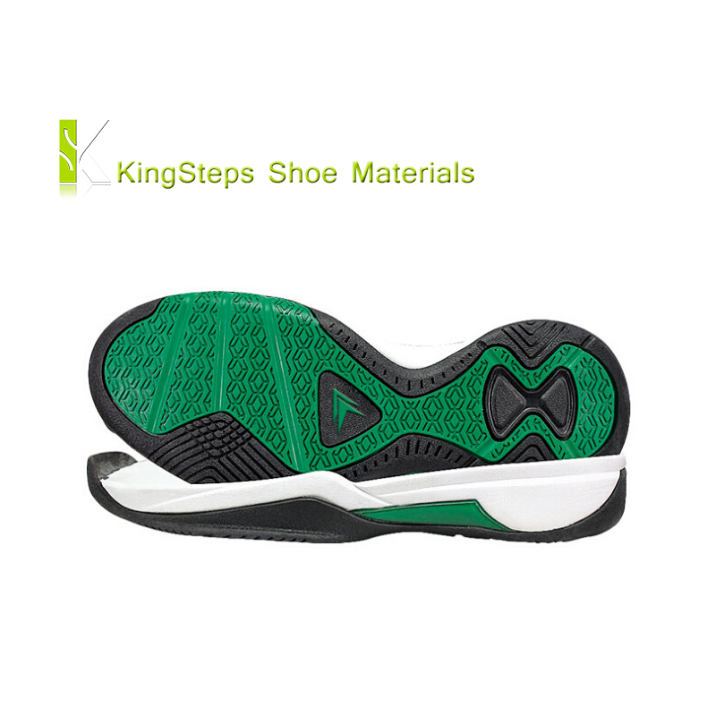 Rubber basketball sole for 2016 new style skidproof shoes fashion shoe outsoles made in Jinjiang KSXFY-160804