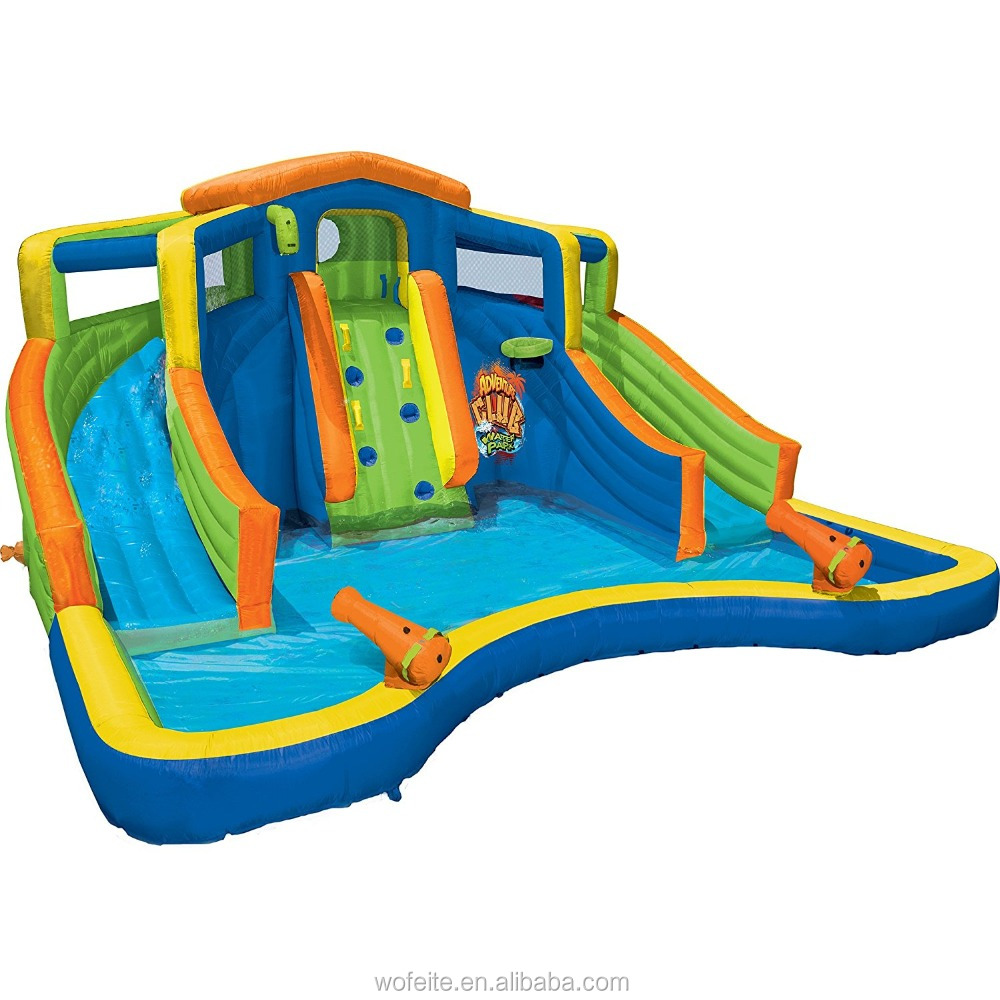 Inflatable Adventure Club Backyard Water Park