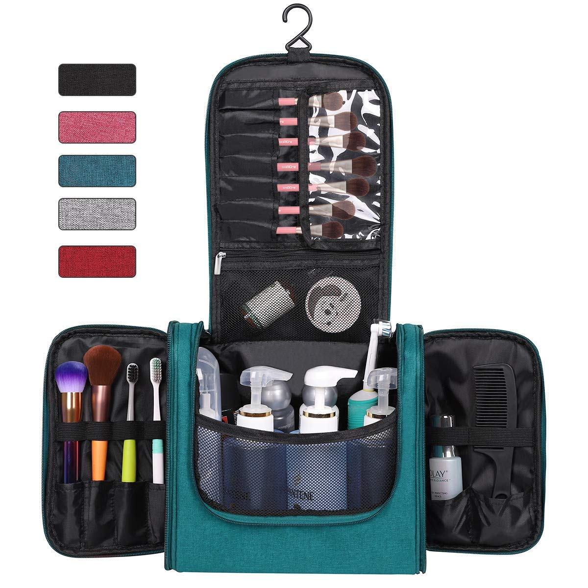 f6e0c2588a Cheap Travel Hanging Toiletry Kit