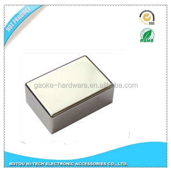 Medical grade EMI filter aluminum box and Kovar lid with sintering pins
