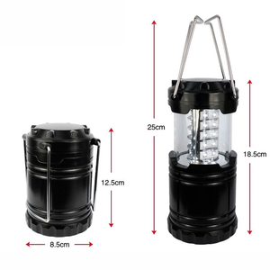 30 LED Solar OEM USB Multi-function Rechargeable Portable Lamp Led Camping Lantern