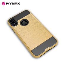 IVYMAX Fast delivery case fashion design for iphone x cases alibaba case brushed