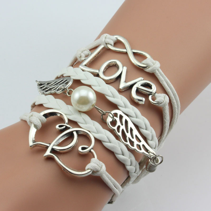 Wholesale Diy Charm <strong>Jewelry</strong>, Leather Bracelets
