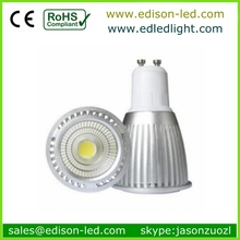 230V dimmable led gu10 spot light for a smooth even light