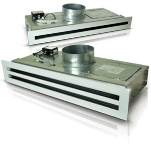 White Colour Linear Slot Air Diffuser Hvac Linear Slot