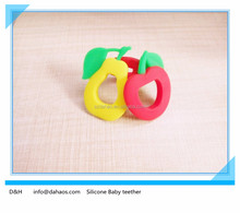 China Manufacturer BPA Free Food Grade Silicone Baby Teether/Eco Friendly Teething Rings
