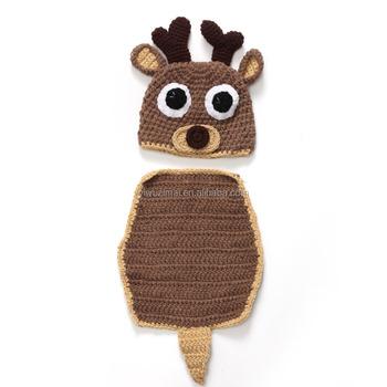 2015 Neueste Neugeborenen Weihnachten Hirsch Modellierung Hut
