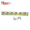 6 inch 1 Multi-Screen Strip Shelf Display 4.3 inch 5 inch LCD Advertising Player For Supermarket