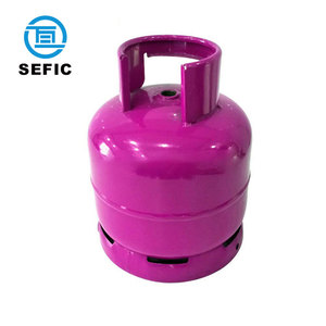 Online Hot Sale Small Household 3 KG LPG Cylinders Competitive Price