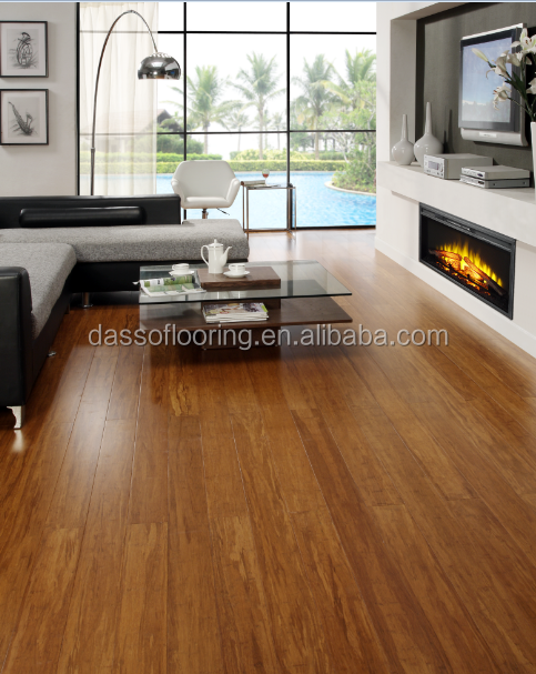 OEM/ODM China leanding manufacturer high density uv coating solid bamboo flooring better than high end laminate wood flooring