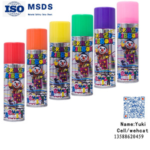 3 oz Super birthday party color silly String spray