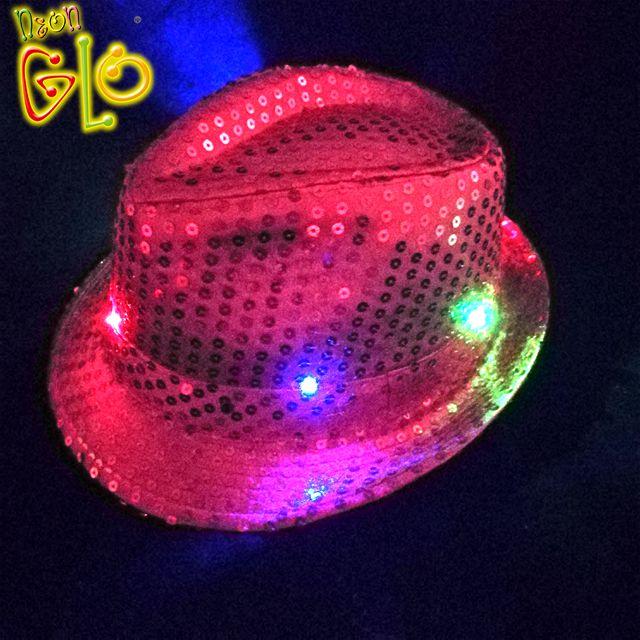 Led Sequin Fedora Hat Wholesale 375292d15114